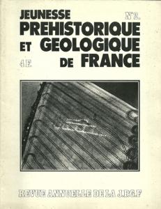 Bulletin annuel de la JPGF n° 2 - Année 1972