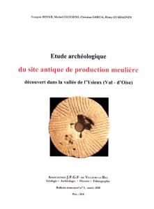 Étude archéologique du site antique de production meulière