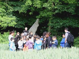 Le menhir de la Pierre Longue de la Vallée de l'Ysieux