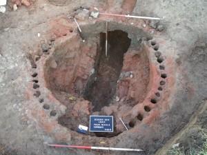 Four de potiers gallo-romains à Ecouen - Production de sigillées décorées à la molette