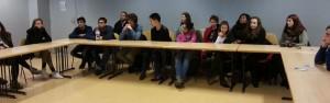 Conférence de la JPGF au collège Martin Luther King de Villiers le Bel