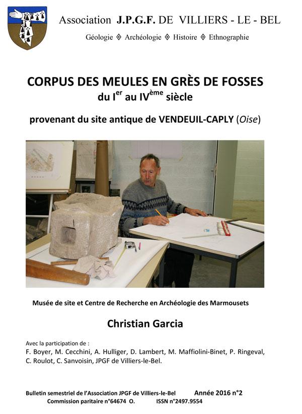 Corpus des meules Vendeuil-Caply