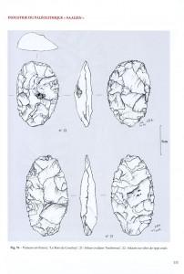 Industrie du Paléolithique Saalien en Ile de France