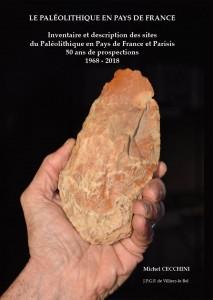 Le Paléolithique en Pays de France vient de paraître