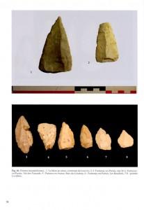 Pointes moustériennes du Paléolithique Ile de France